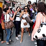 Ian Somerhalder and Nina Dobrev PDA in Paris Pictures
