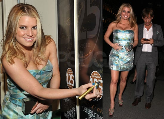 Pictures of Jessica Simpson, Hilary Duff, Ken Paves, Kristen Bell at Good Housekeeping Party in NYC