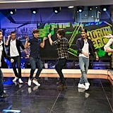One Direction on El Hormiguero TV Show in 2012