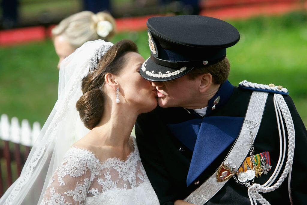 Prince Pieter-Christiaan and Anita van Eijk