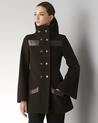 Trend Alert: Leather Trim Coats and Jackets