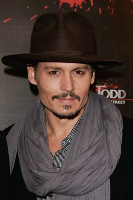 Photos of Johnny Depp on the Set of The Rum Diaries