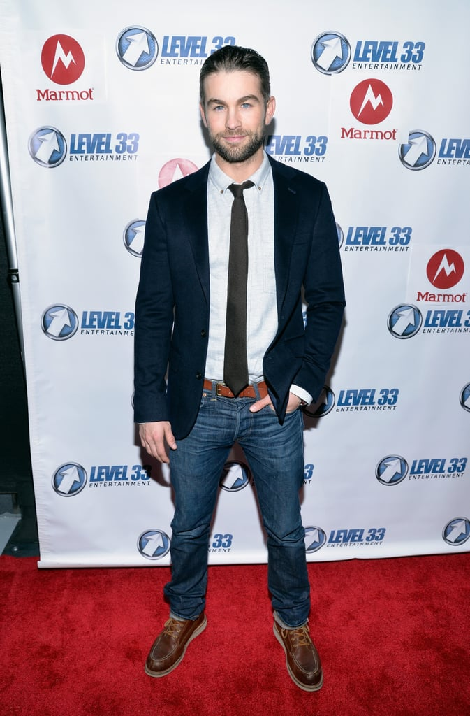 Is that you, Nate Archibald? On Friday, Chace Crawford gave us major Gossip Girl flashbacks when he hit the red carpet at the LA premiere of his new movie Mountain Men. The actor looked to be in good spirits, posing for photos and sharing laughs with his costar Tyler Labine. In the comedy, Tyler and Chace play two brothers who make a trip to their remote family cabin in the mountains to evict a squatter. Keep reading to see more of Chace's picture-perfect appearance, and then scroll through his hottest Instagram moments — so far!