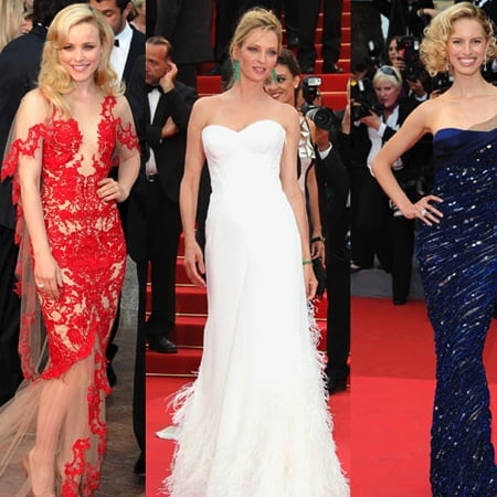 Rachel McAdams in Marchesa at the 2011 Cannes Film Festival 2011-05-11 17:53:07