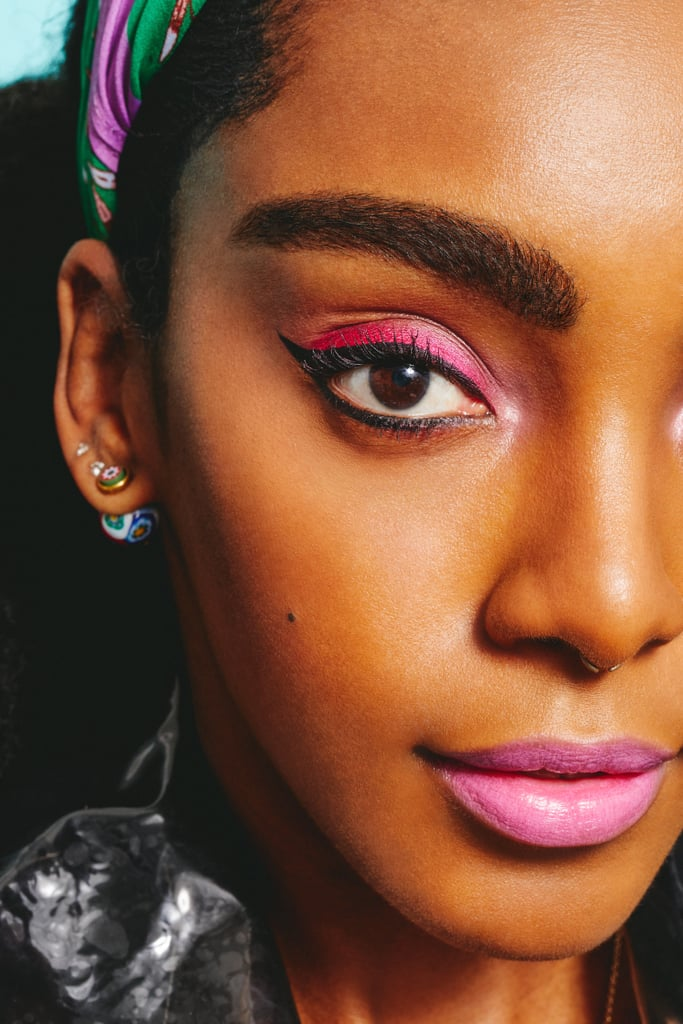 How to Wear Hot-Pink Makeup