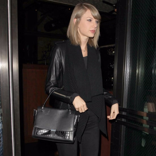 Taylor Swift Wearing Black November 2015