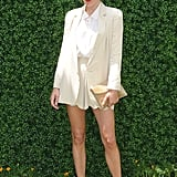 Short shorts and a blazer get a proper topper at the Veuve Clicquot Manhattan Polo Classic in May '09.