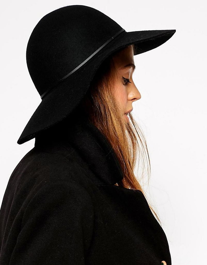 Protect your hair from the desert sun by wearing a floppy hat from Asos ($31).