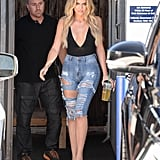 It's Easy to See Why She Created Denim, Khloé's Always in Them!