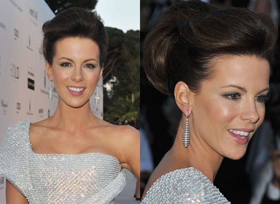 Photos of Kate Beckinsale's AmfAR Updo