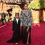 Beyoncé and Blue Ivy at the UK Premiere of The Lion King