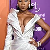 Normani at the 2019 Diamond Ball