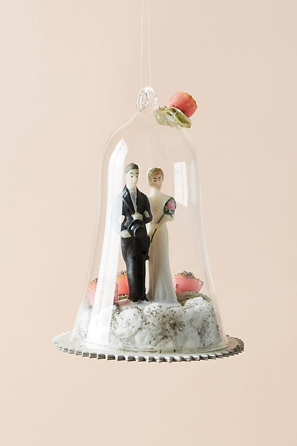 Wedding Cloche Ornament