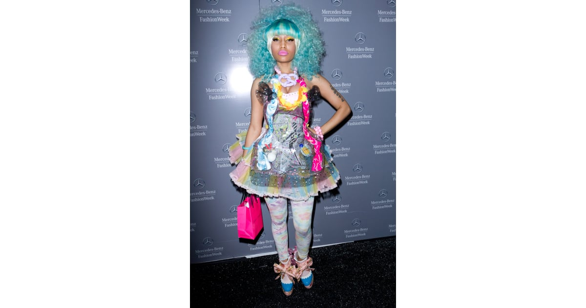 Nicki Minaj Style Nicki Minaj Craziest Outfits Pictures Popsugar Fashion Photo 1