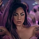 Lady Gaga's Ariana-Grande-Inspired High Ponytail