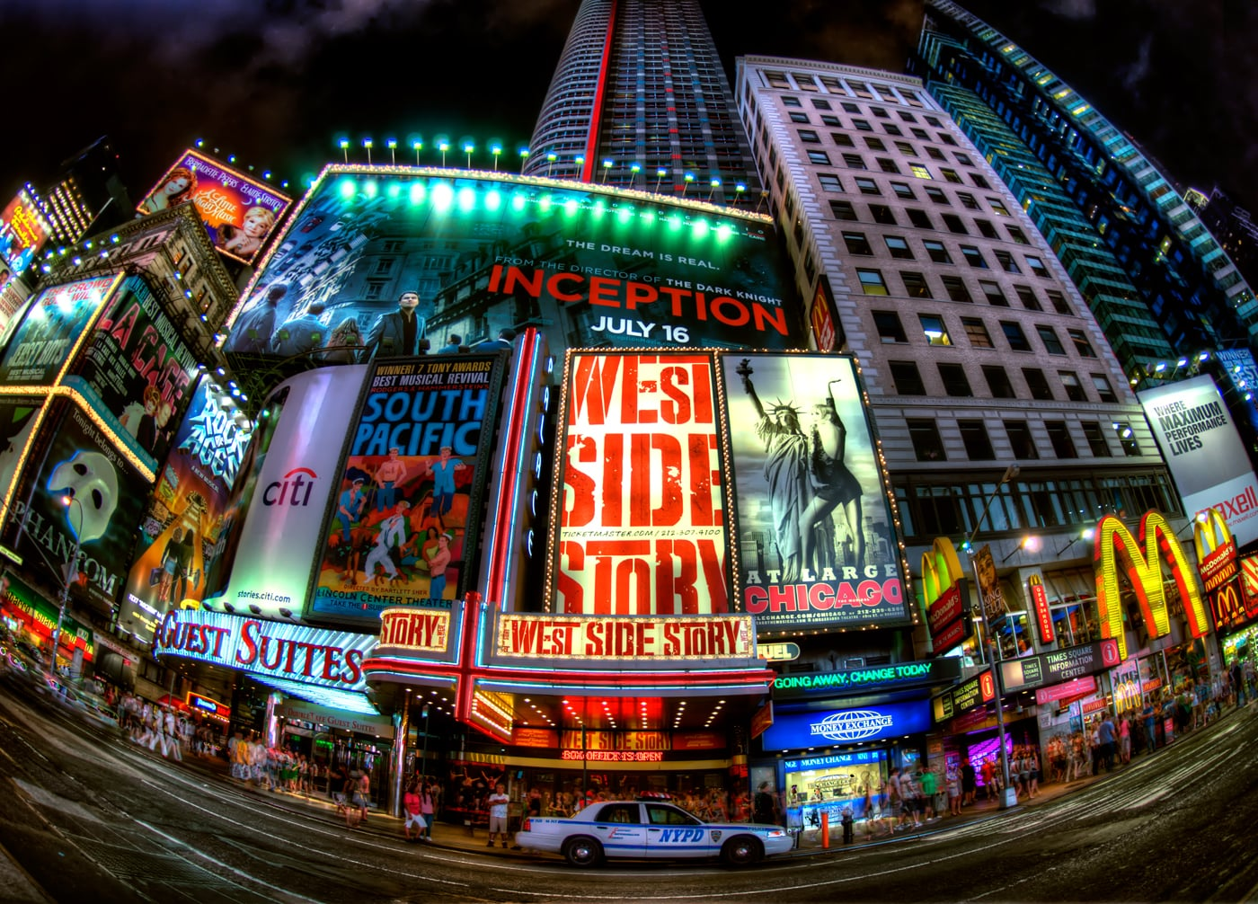 See a Broadway Musical
