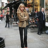 Walking Around London in Leopard