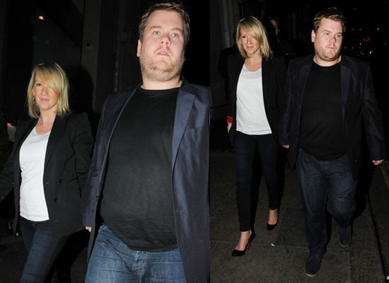 Pictures of James Corden and Pregnant Girlfried Julia Carey