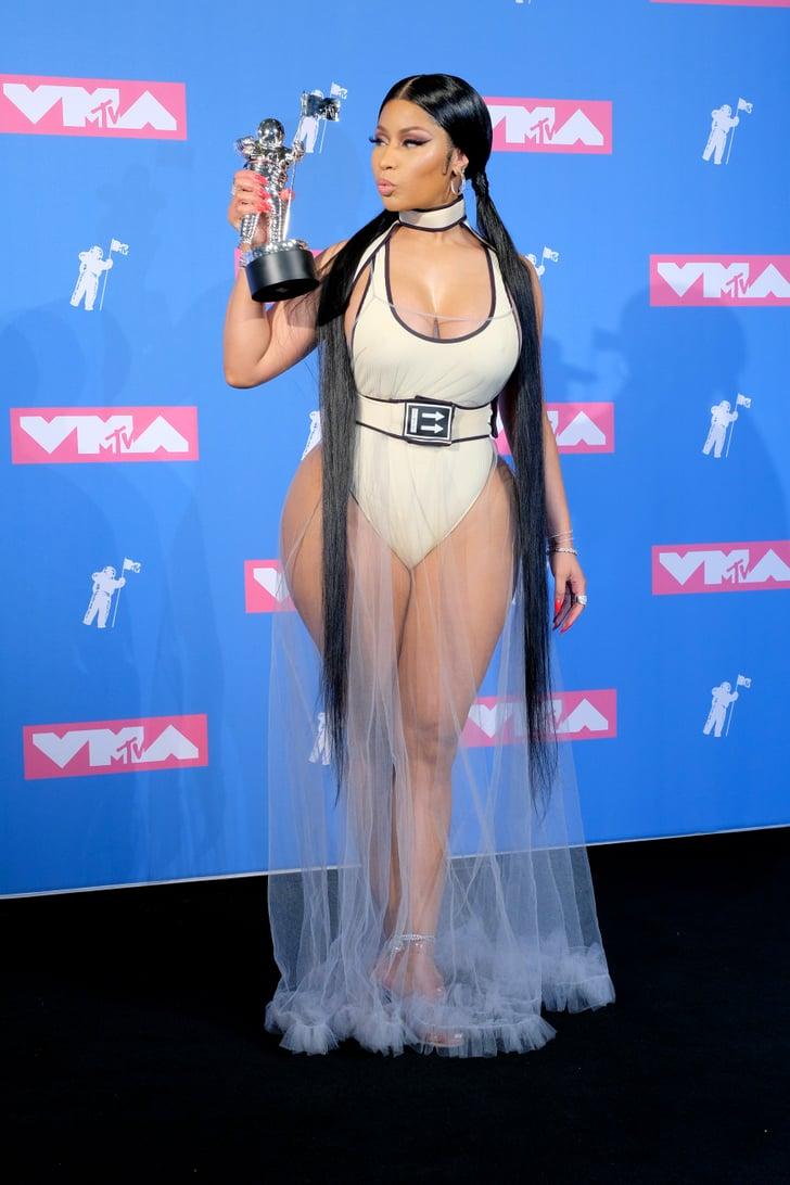 Nicki Minaj Outfit Vmas 2018 Popsugar Fashion Australia