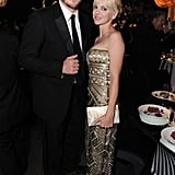 Anna Faris and Chris Pratt at the Emmy's Governor's Ball together.