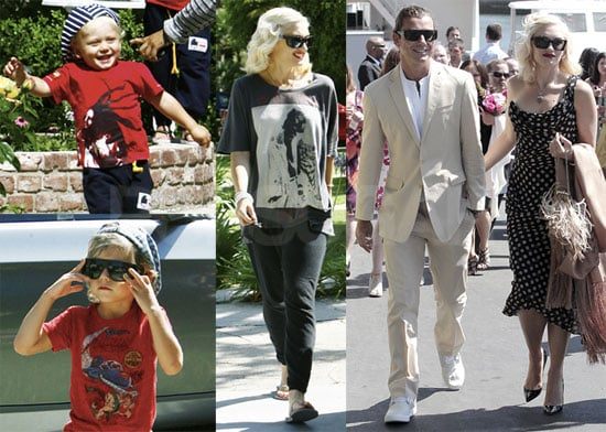 Pictures of Gwen Stefani, Gavin Rossdale, Ellen Pompeo, and Their Kids in LA