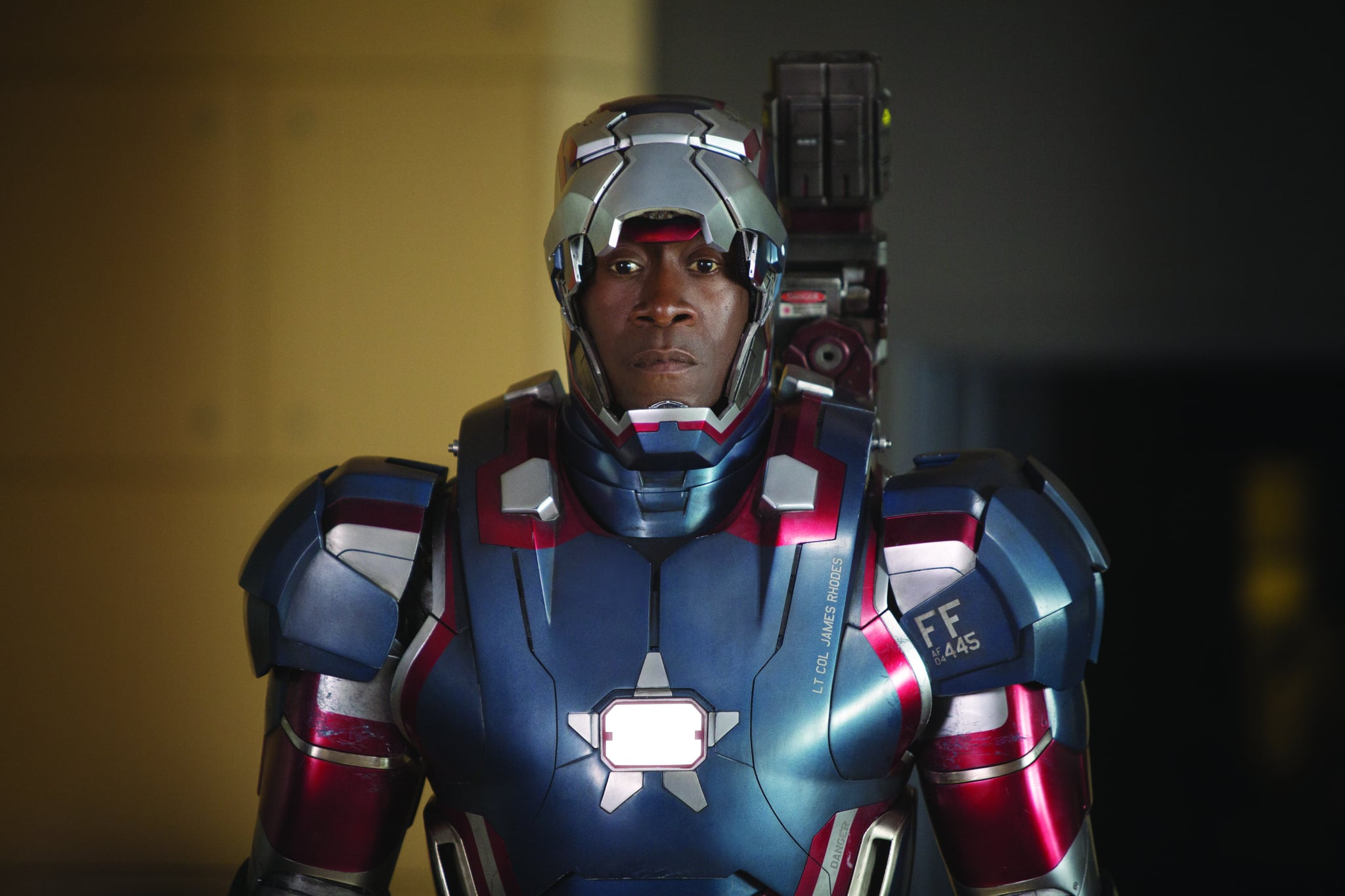 In: James Rhodes / War Machine | A Quick Reminder of Who's Still on the Avengers Team Before Captain America: Civil War | POPSUGAR Entertainment Photo 11