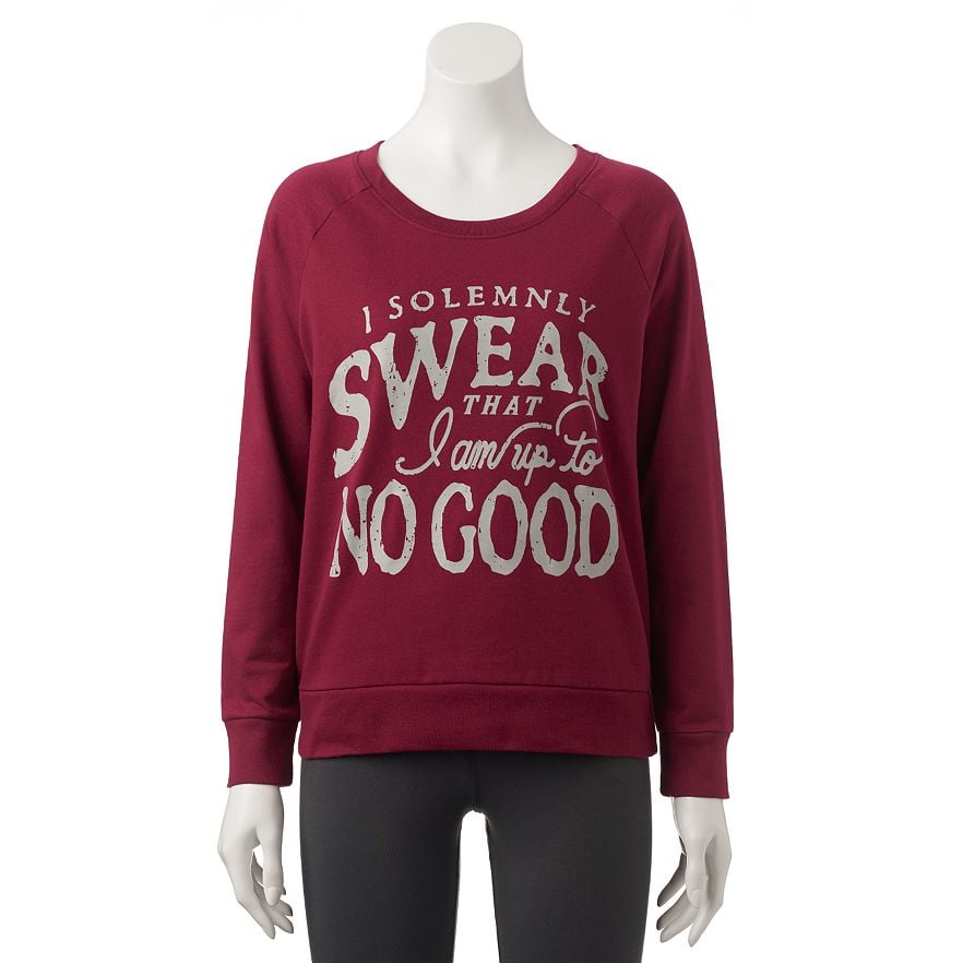 """I Solemnly Swear That I Am Up to No Good"" Sweatshirt ($21, originally $30)"
