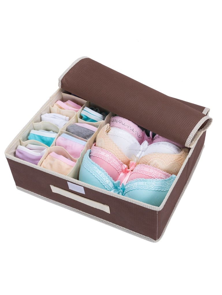 Compartment Underwear Storage Box