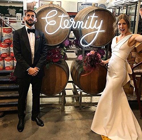 Eternity Neon LED Wedding Sign