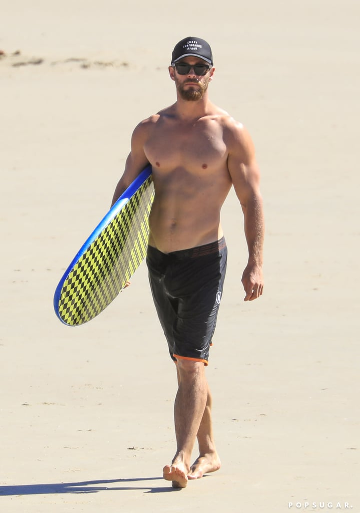 Chris Hemsworth and Matt Damon Have a Beach Day Down Under With Their Families