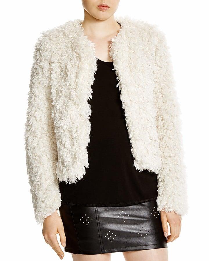 Lucy Paris Faux Fur Jacket  ($88)