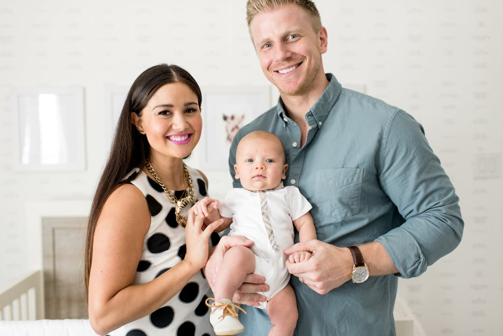 "After finding love during season 17 of The Bachelor, Sean Lowe and his wife, Catherine Giudici, welcomed their adorable son, Samuel, on July 2. Now, we're finding love in their perfectly decorated nursery for baby Samuel. After teaming up with Wayfair and Tori Swaim of New Arrivals, Inc., Sean and Catherine decorated Samuel's nursery with the entire family in mind.   Describing her design style ""as comfortable layers with clean lines and a touch of eclectic,"" Catherine created a gender-neutral nursery with a textural mix of whites, creams, and grays. The comfortable space is so clean and chic, we just hope that glider stays spitup-free! Filled with personalized touches, the nursery has a beautiful style that can be applied to any room in your home. Keep reading to see Samuel's nursery and what Catherine had to say about designing it, and then shop the items from Sean and Catherine's Wayfair nursery makeover here.      Related:                                                                Jillian Harris's All-White Nursery Is Pure Perfection                                                                   Useful Baby Shower Gifts New Moms Will Love (and Use!)                                                                   12 Space-Saving Nursery Hacks to Prep Baby's Room"