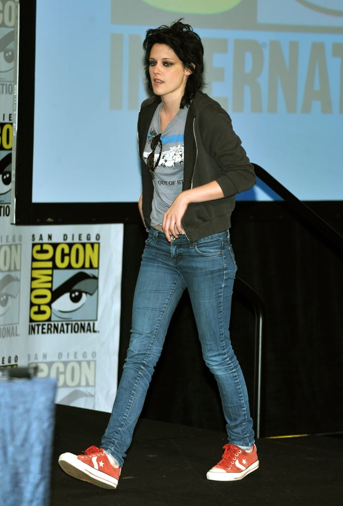 Kristen Stewart stepped onto the stage in 2009.
