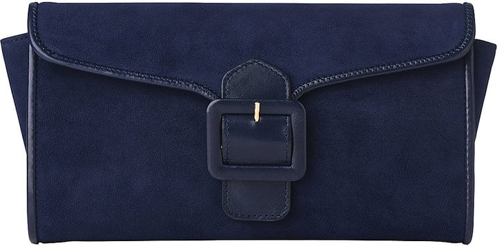 L.K. Bennett Bella Suede Clutch Bag ($343)