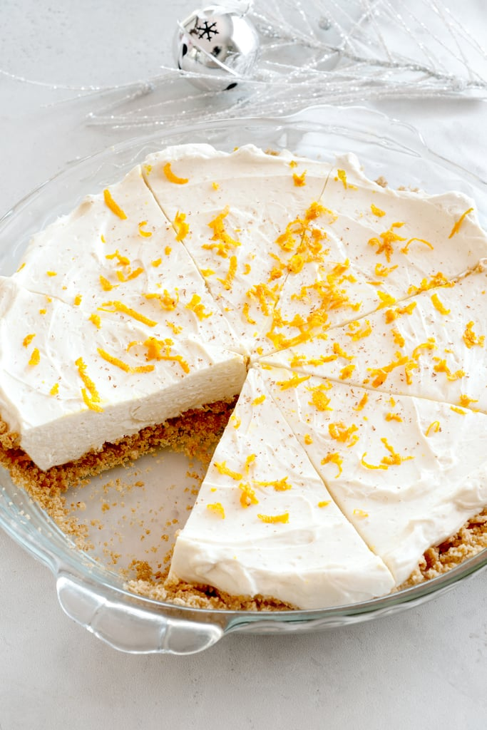 No-Bake Orange Spice Cheesecake