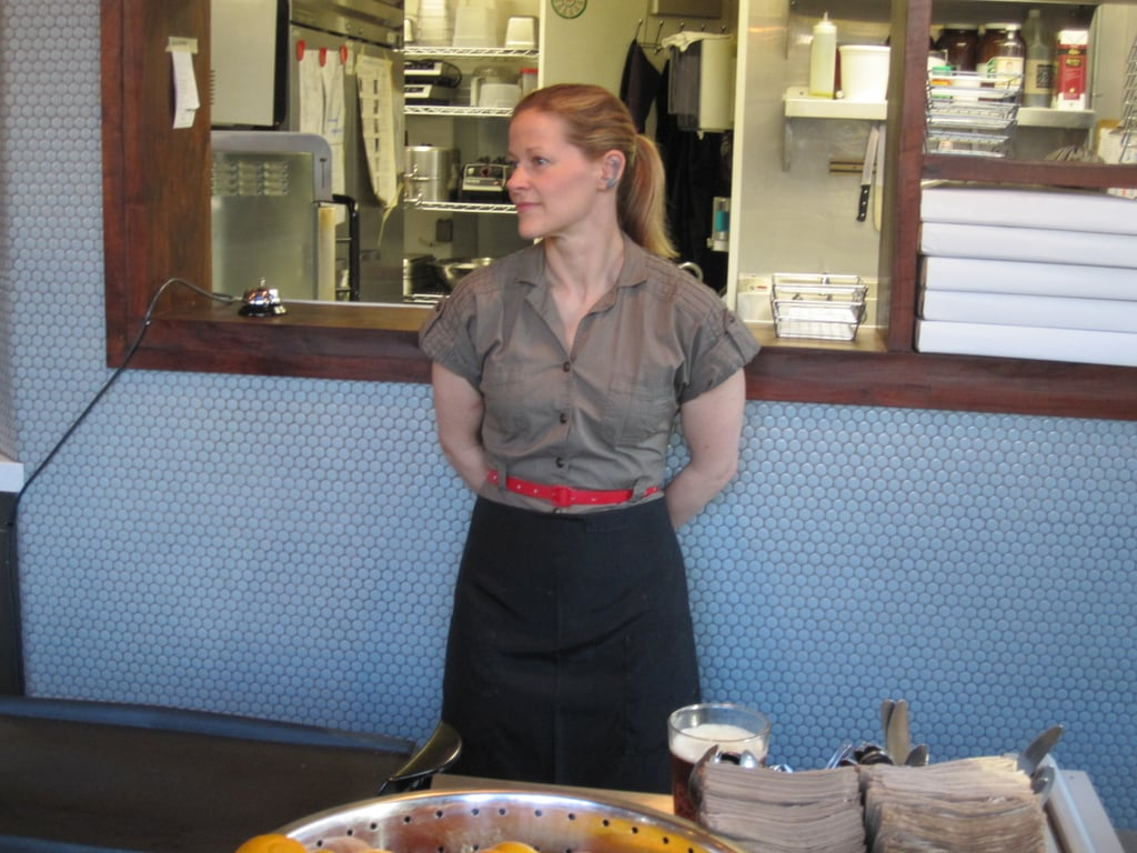 Chef Heidi Gibson, the mastermind behind the American's grilled cheese sandwiches.