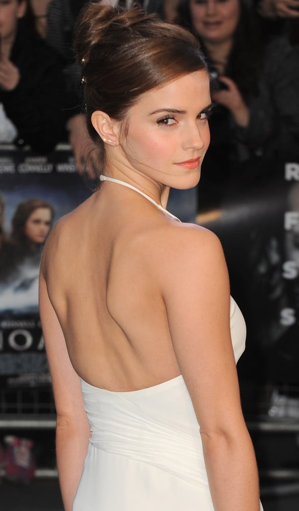 Pictures of Emma Watson With Wedding Hair at Noah Premiere