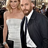 With Charlize Theron at the Mad Max: Fury Road LA premiere in 2015.