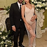 Riccardo Tisci and Irina Shayk at the British Vogue and Tiffany & Co. Fashion and Film Party