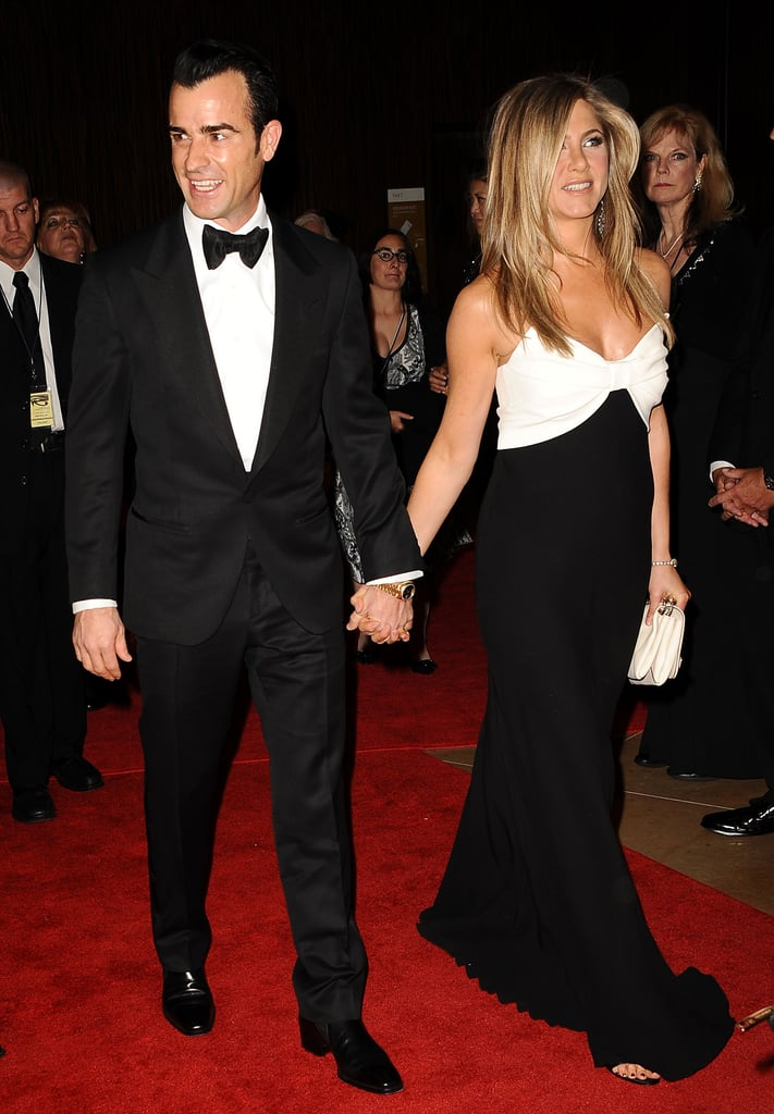 Jennifer Aniston and Justin Theroux Honor Ben Stiller