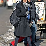 Rachel Weisz Runs Solo Around Soho