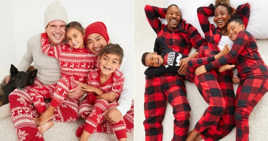 Old Navy Matching Holiday Pajamas For the Family