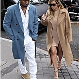 """Kim posted a #latergram of the couple's day in Paris with the hashtag """"#love."""" Source: Instagram user kimkardashian"""