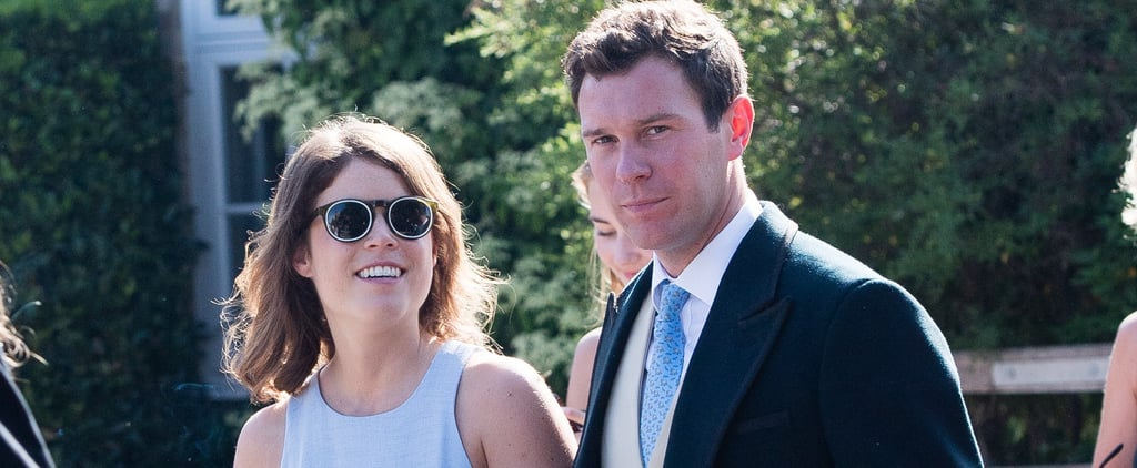Princess Eugenie's Blue Wedding Guest Dress 2018