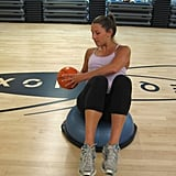 Russian Twist on BOSU: The Exercise