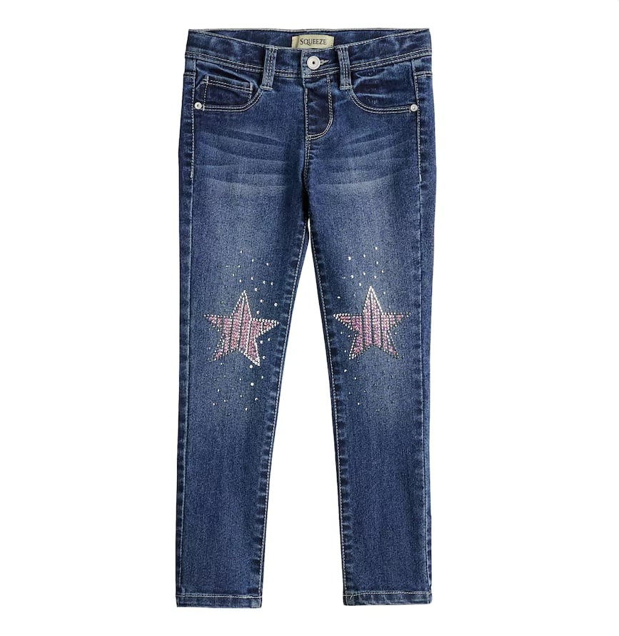Sequined Star Jeggings