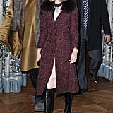 Anna Wintour checked out Stella McCartney.