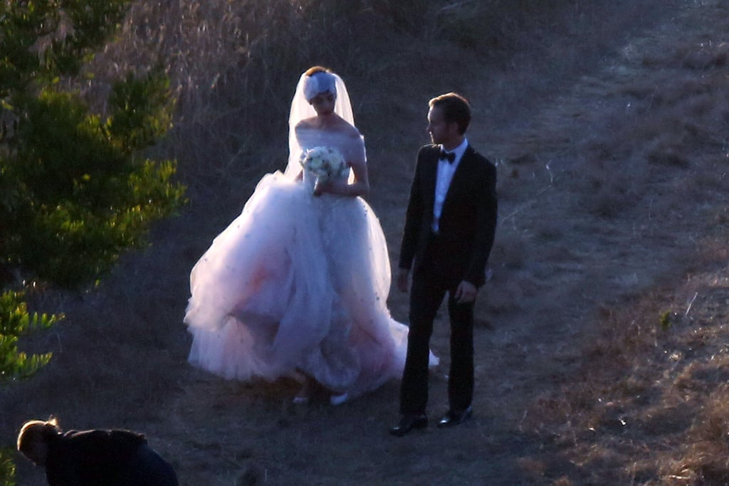 First Pictures Of Anne Hathaway's Wedding Dress