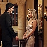 Alejandro and Emily Maynard on The Bachelorette.