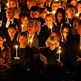 In 2014, Camilla, Duchess of Cornwall, attended the Maggie's Christmas Carol concert at St Paul's Cathedral.
